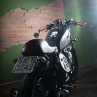 Yamaha 028 – XV 500 Jungle Julia | FiftyFive Garage - 4