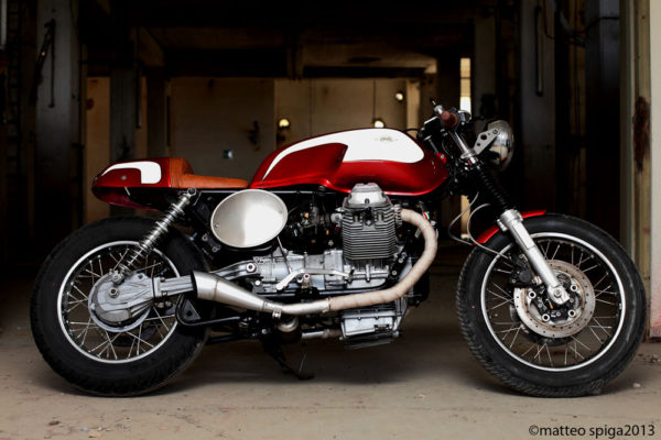 Guzzi 002 - Factory - FiftyFive Garage
