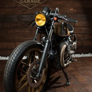 Guzzi 008 - 650 SP Oro Nero - FiftyFive Garage