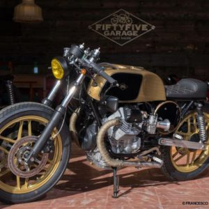 Guzzi 008 - 650 SP Oro Nero - Biposto - Fifty Five garage
