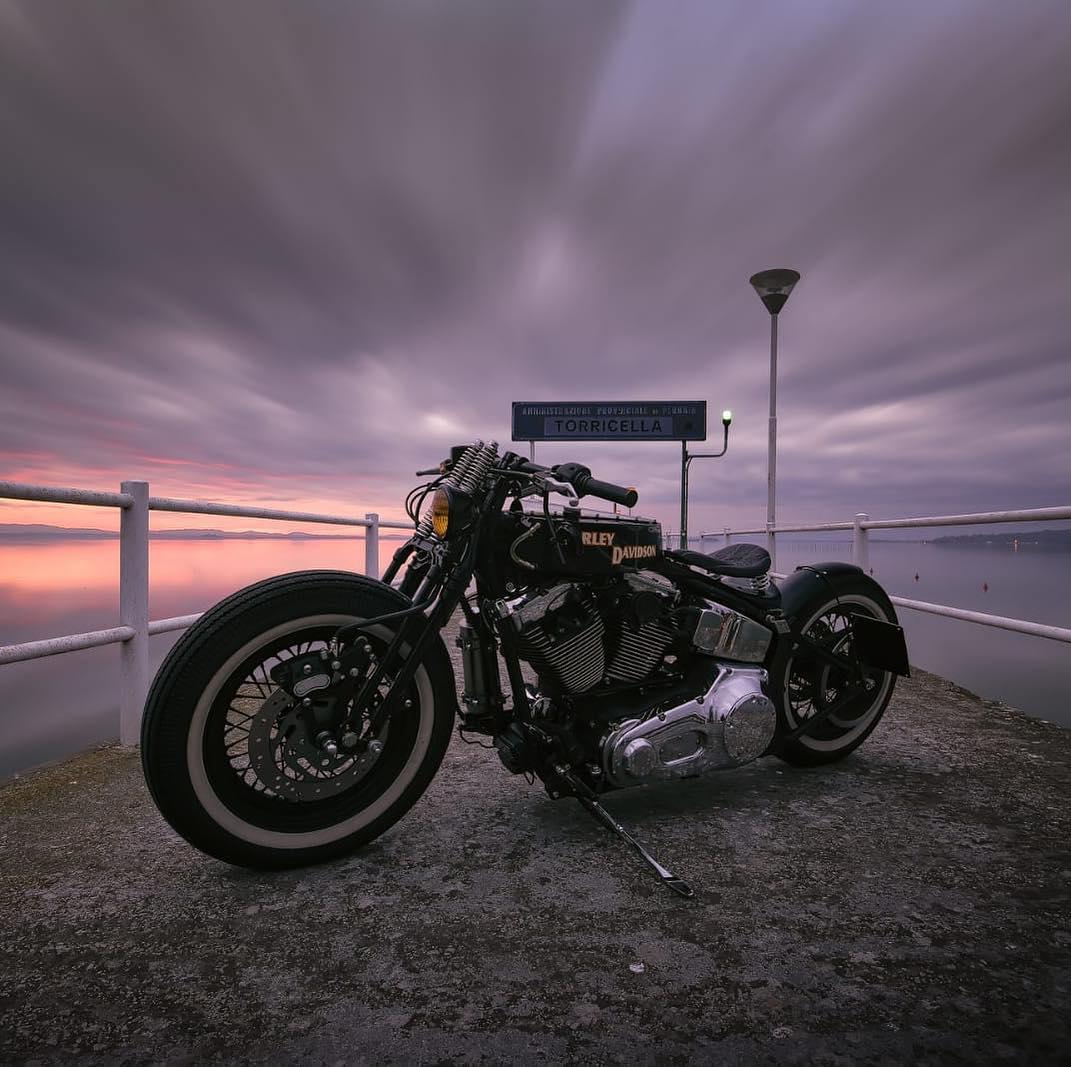 Harley davidson - Achille