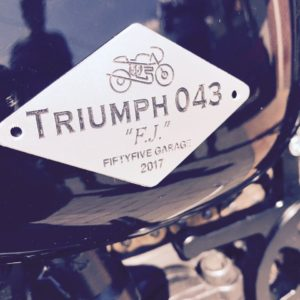 Triumhp 043 - F.J. - Fiftyfive Garage