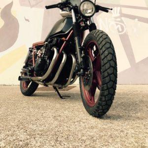 Suzuki 046 - demi scrambler - FiftyFive Garage 02