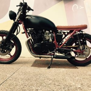 Suzuki 046 - demi scrambler - FiftyFive Garage 01
